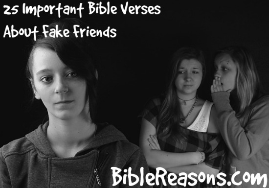 25 Important Bible Verses About Fake Friends
