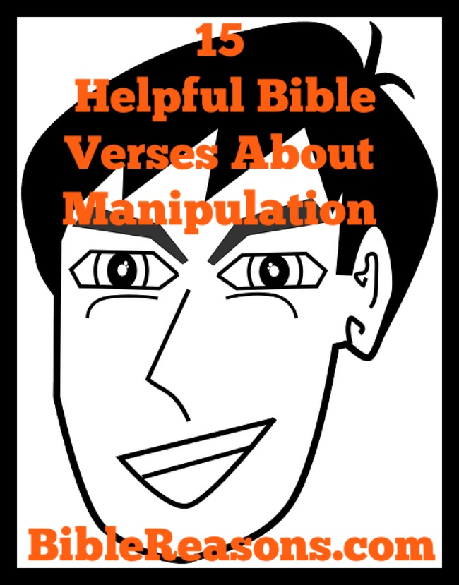 15 Helpful Bible Verses About Manipulation