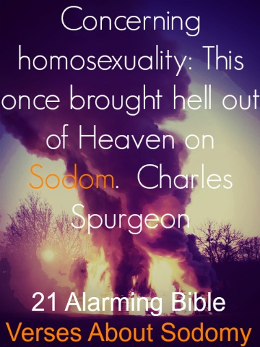 21 Alarming Bible Verses About Sodomy