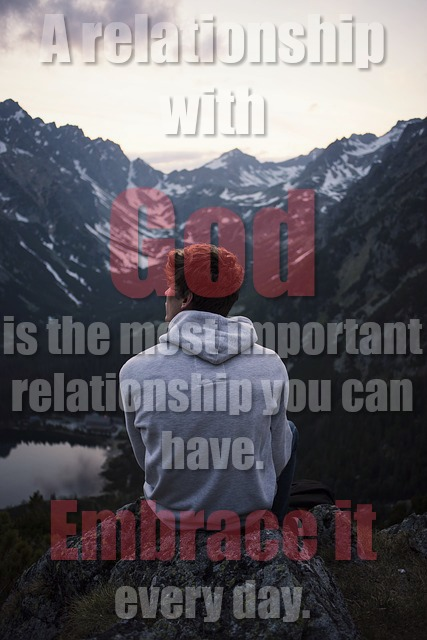 Growing A Relationship With God (Stop Avoiding God)