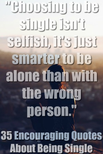 Selfish are single men Are Single