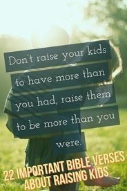 22 Important Bible Verses About Raising Children