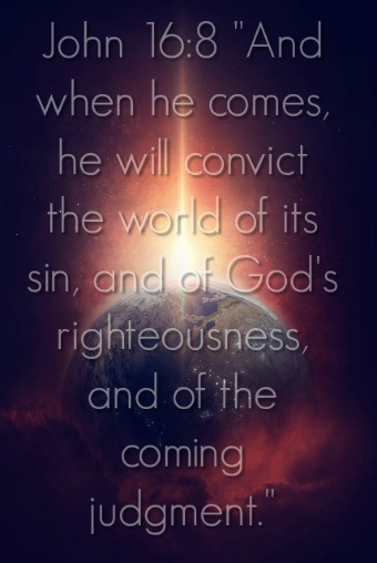 The Holy Spirit Convicts The World Of Sin