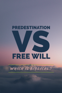 Predestination Vs Free Will: Which is Biblical?