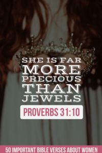 50 Important Bible Verses About Women