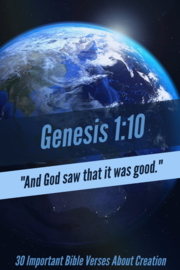 30 Important Bible Verses About Creation And Nature (God's Glory!)