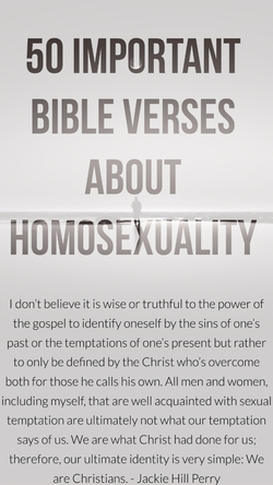 50 Important Bible Verses About Homosexuality (Is Being Gay A Sin?)