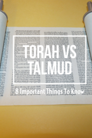 Talmud Vs Torah Differences: (8 Important Things To Know)