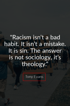 Racism isn't a bad habit. It isn't a mistake.