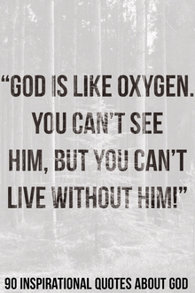 90 Inspirational Quotes About God (Who Is God Quotes)