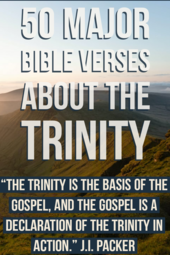 50 Major Bible Verses About The Trinity (Trinity in the Bible)