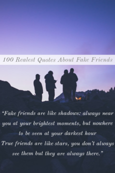 100 Realest Quotes About Fake Friends (Best Fake People Quotes)