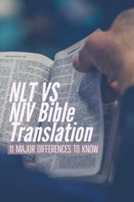 NLT Vs NIV Bible Translation (11 Major Differences To Know)