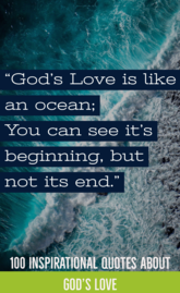 100 Epic Quotes About God's Love For Us (God Is Love Quotes)