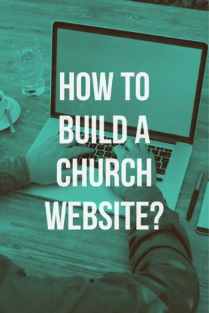 How to build a church website?