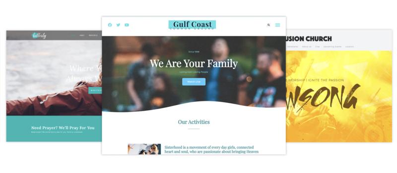 Sharefaith website builder
