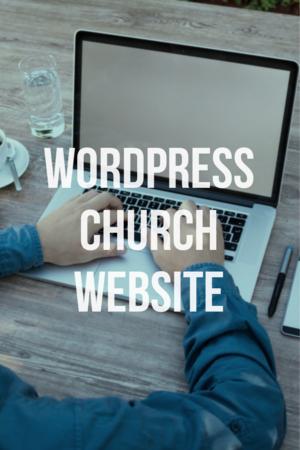 WordPress church website